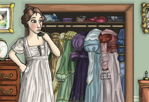 What ever should I wear... by Severita