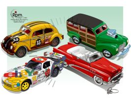 Various Johnny Lightning Cars by RpmIndy