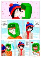 a snowy day in South Park x3 by eikosalia