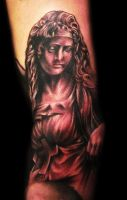 Statue Tattoo Best of Day by hatefulss