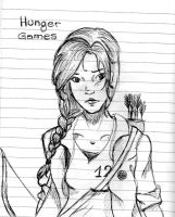 Katniss in Hunger Games by Mihara-chan