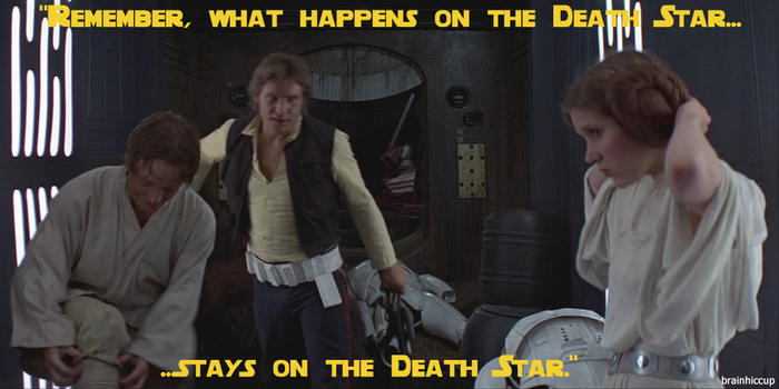 What Happens on the Death Star... by brainhiccup