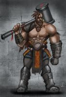 The barbarian by WackoShirow