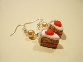 Cake Earrings by LittleCharms