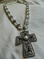 Tudor Cross Necklace by DOC-Ash1391