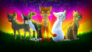 The Five Giants Thumbnail Entry #1 l:) by TesArtist