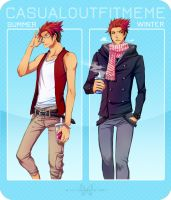 MM: Casual Outfit Meme by cherubchan