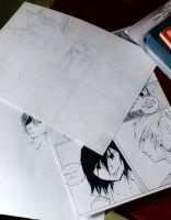 Homegrown Hero teaser - pages 53, 54, concept art by AnzuAi