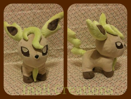 Chubby Leafeon by inaligrimalkin