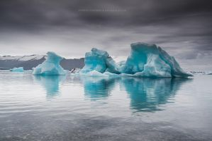 Triple Iceberg by Stridsberg