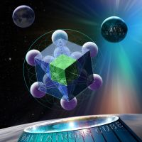 Metatrons Cube in Space by AVAdesign
