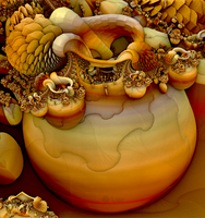 Pot of Fractals - Happy Thanksgiving... by LaxmiJayaraj