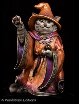 tabby Wizard cat by Reptangle