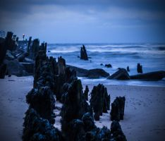 Stormy Shore by chivt800