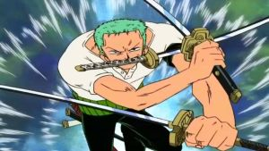 Zoro charge! by FionaDevil