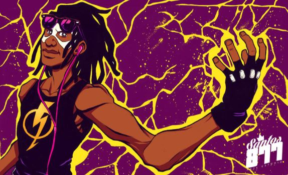 Static Shock! by Squire-di-Luce