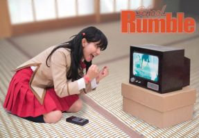 Tenma Tsukamoto::School Rumble by Witchiko