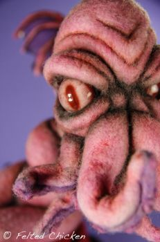 Pink Cthulhu 5 by AlwaysSuagarCoated