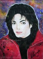 You are my brightest star - Michael Jackson by AlenaGalayko