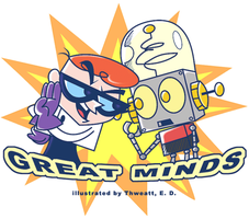 Great minds? by thweatted