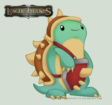 League of Legends: Baby Rammus by scriptKittie