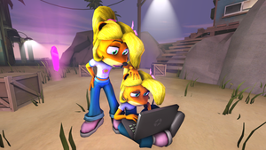 [DL] Coco Bandicoot by BeardedDoomGuy