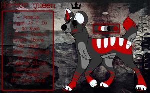| Horror Queen 2015 Temp Reference Sheet | by Undead--Rainbows