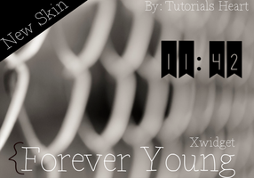 Skin Xwidget Forever Young by HeartTutorials