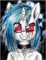 Vinyl Scratch by Edo--sama