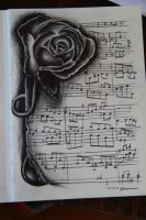 Musical Rose by WhisperingEquus
