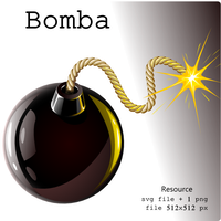 Bomba -svg by ilnanny