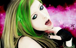 Avril Lavigne SMILE edit by CassPoon