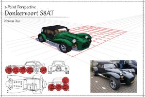 Donkervoort S8AT by NeriX-Nao