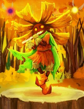 Skull Kid by SuzetteRGreinwich