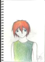 Guy with Red Hair by Darkmyrr