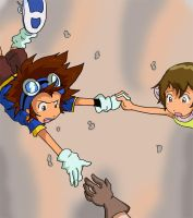 Digimon: Just out of reach by Shigerugal