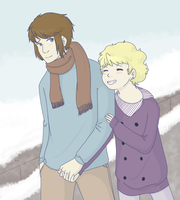 Winter Date by kassie