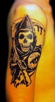 Sons of anarchy tattoo by nsanenl