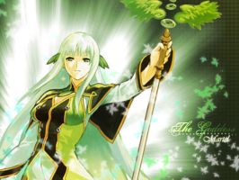 Tales of Symphonia WP by feeonee