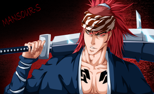 Manga Bleach 585 Renji by Mansour-s