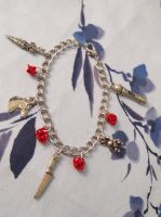 Weapons an Roses Charm Bracelet by emmadreamstar