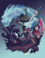 Dungeons and Dragons Past by RidleyLitton