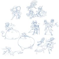 Stream Sketches 2013-08-13 by frankperrin