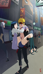 Commission - Naruto and RTN Hinata by dannex009