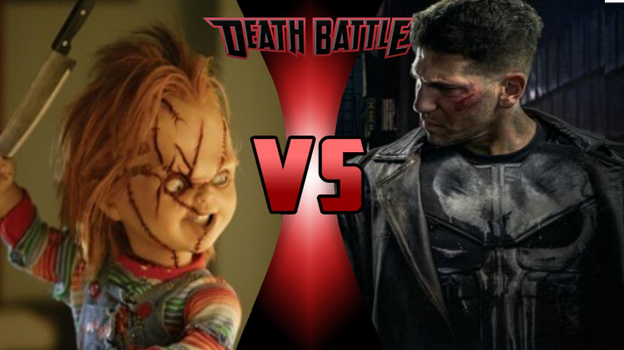 Death Battle idea #29: Chucky vs Punisher by SonSilvShad18