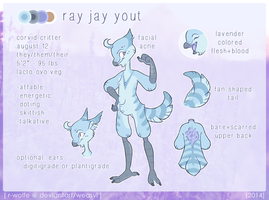 ray jay yout [2014 ref] by VCR-WOLFE
