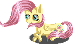 Fluttershy Page Doll Simple by Pixel-Nightmare