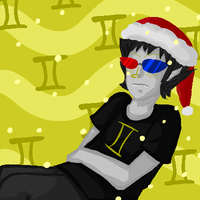Christmas Sollux. by Kurikipi
