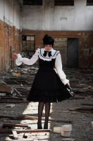 New Gothic Lolita 9 by Kechake-stock