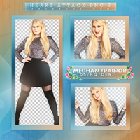 Meghan Trainor Photopack PNG by bubblegumhq